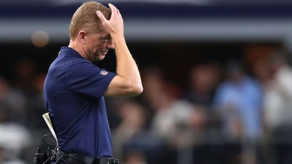Muss nach der fünften Pleite im achten Spiel mit seinen Dallas Cowboys offen... - Bildquelle: 2018 Getty Images