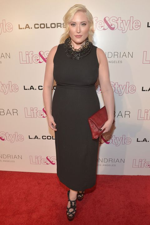 Hayley Hasselhoff - Bildquelle: Charley Gallay / Getty Images for Life & Style Weekly / AFP