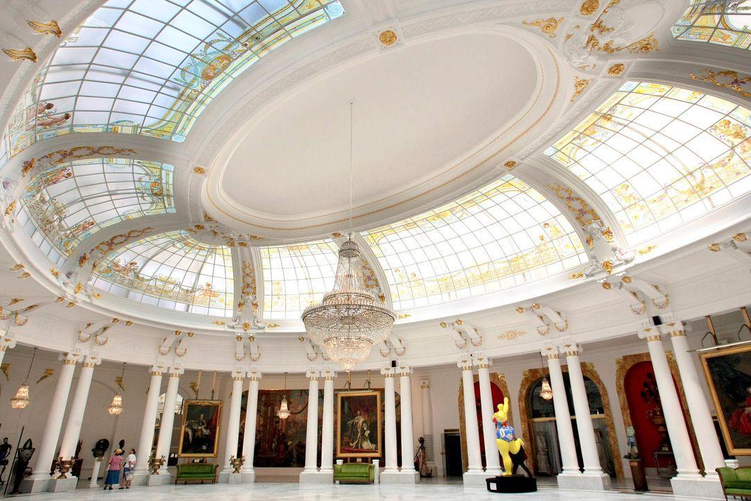 Nizza-Hotel-Negresco-Salon-Royal-AFP - Bildquelle: AFP Photo/Stephane Danna