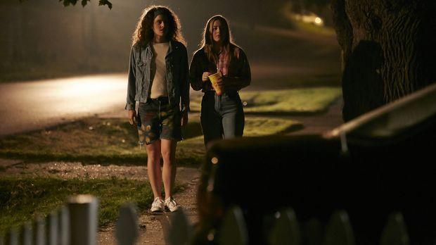In ihrer Heimatstadt Orlando laufen Shauna Card (Melinda Michael,l.) und Bria...