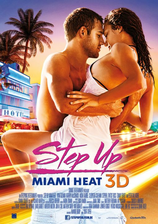 STEP UP 3D - MAKE YOUR MOVE - Plakatmotiv - Bildquelle: Constantin Film