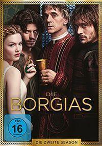 DVD-Cover der zweiten Staffel von Die Borgias