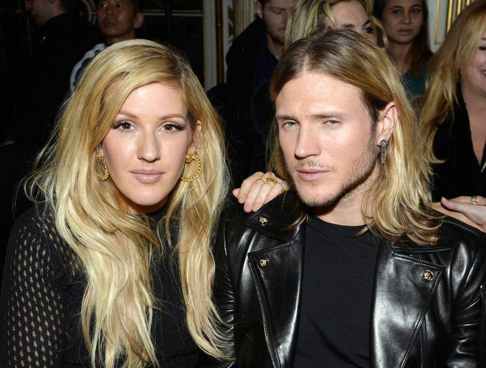 FW-Paris-Ellie-Goulding-Dougie-Poynter-15-01-25-AFP - Bildquelle: AFP