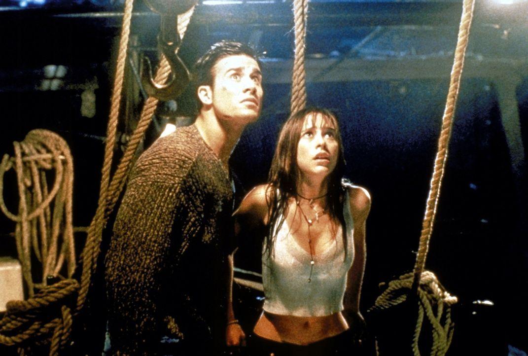 """Der unheimliche """"Fischer"""" will erneut zuschlagen: Seine angepeilten Opfer sind Ray (Freddie Prince Jr., l.) und Helen (Jennifer Love Hewitt, r.) ... - Bildquelle: Columbia Pictures"""