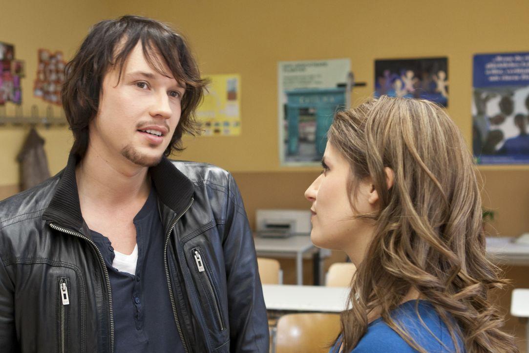Wie wird es zwischen Bea (Vanessa Jung, r.) und Ben (Christopher Kohn, l.) nur weitergehen? - Bildquelle: SAT.1