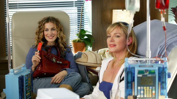 Carrie (Sarah Jessica Parker) and Samantha (Kim Cattrall) © Paramount Pictures