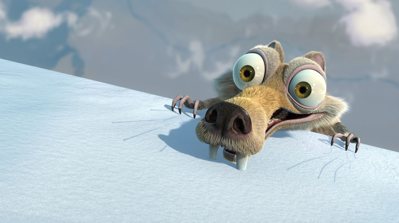 Scrat, das prähistorische Urhörnchen, verbringt sein ganzes Leben damit, einer Eichel nachzujagen - und löst dabei gerne kleine und große Naturkatas... - Bildquelle: ICE AGE THE MELTDOWN TM &   2006 Twentieth Century Fox Film Corporation. All Rights Reserved.