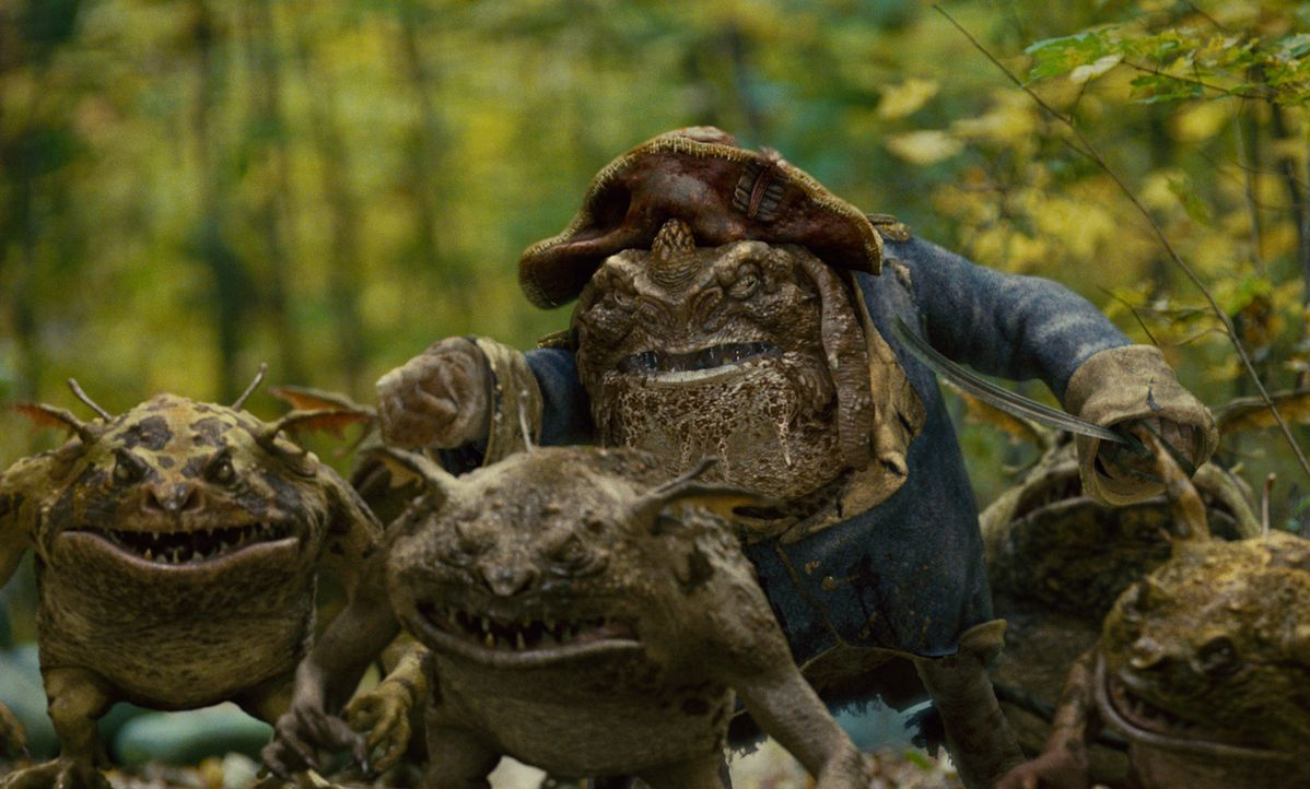 Die Kobolde greifen an und wollen mit allen Mitteln in Besitz des Handbuches von Arthur Spiderwick kommen. - Bildquelle: Paramount Pictures
