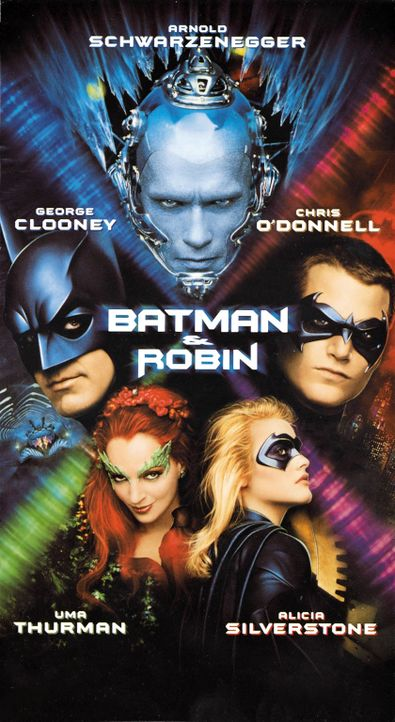 BATMAN & ROBIN - Plakatmotiv - Bildquelle: Warner Bros. Pictures