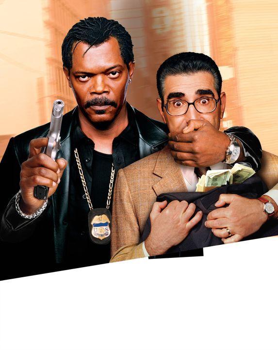 Cool & Fool - Mein Partner mit der großen Schnauze mit Samuel L. Jackson, l. und Eugene Levy, r. - Bildquelle: 2005 Warner Brothers