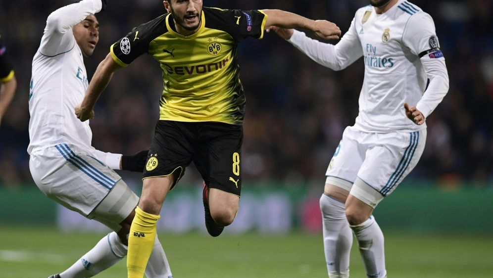 Sahin sah in der Niederlage bei Real Madrid auch Gutes - Bildquelle: SID-SID-AFPJAVIER SORIANO