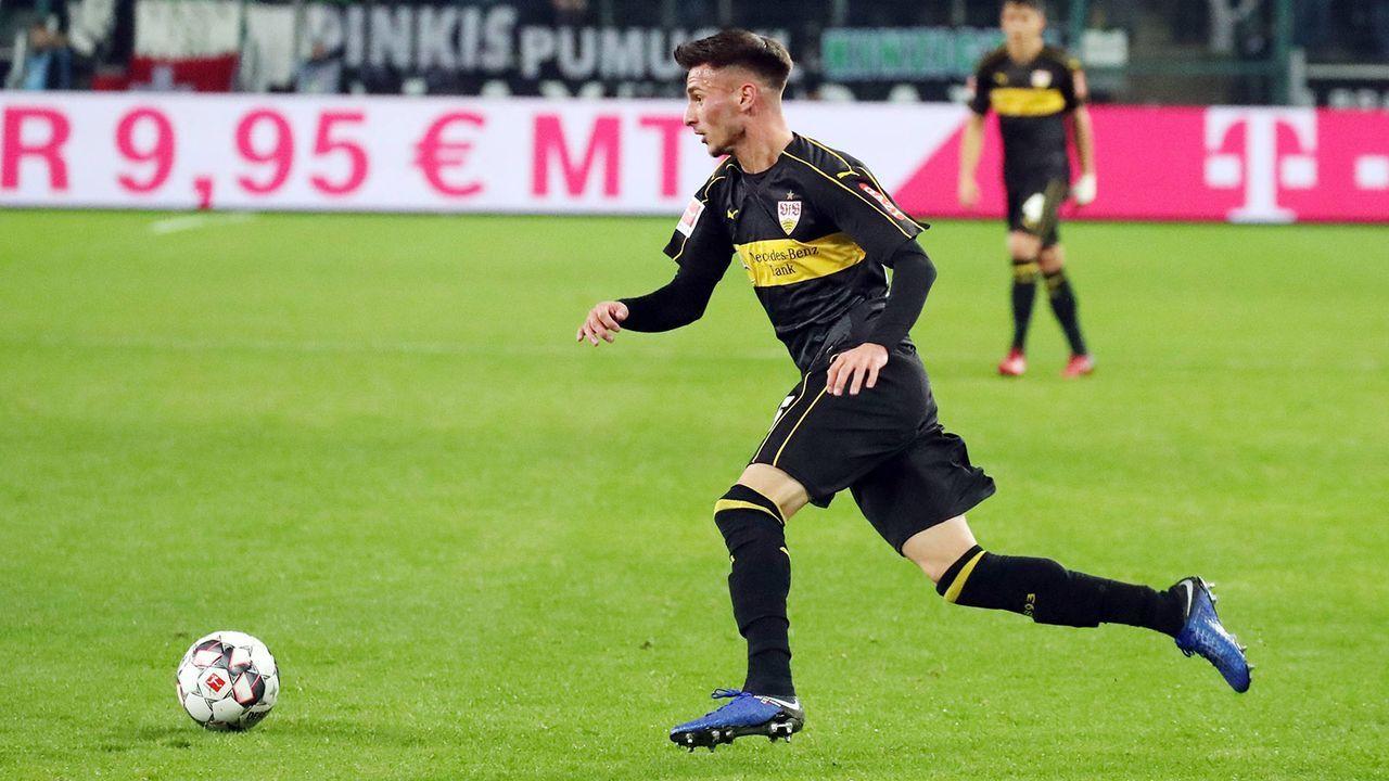 Leon Dajaku (VfB Stuttgart) - Bildquelle: imago/Sportfoto Rudel