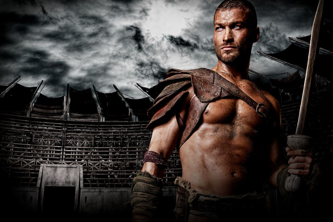 Spartacus - Artwork - mit Andy Whitfield - Bildquelle: 2009 Starz Entertainment, LLC