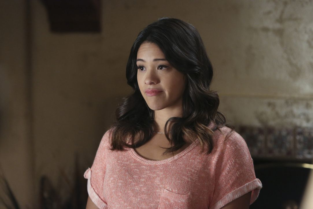 Was ist nur mit Jane (Gina Rodriguez) los? - Bildquelle: 2014 The CW Network, LLC. All rights reserved.