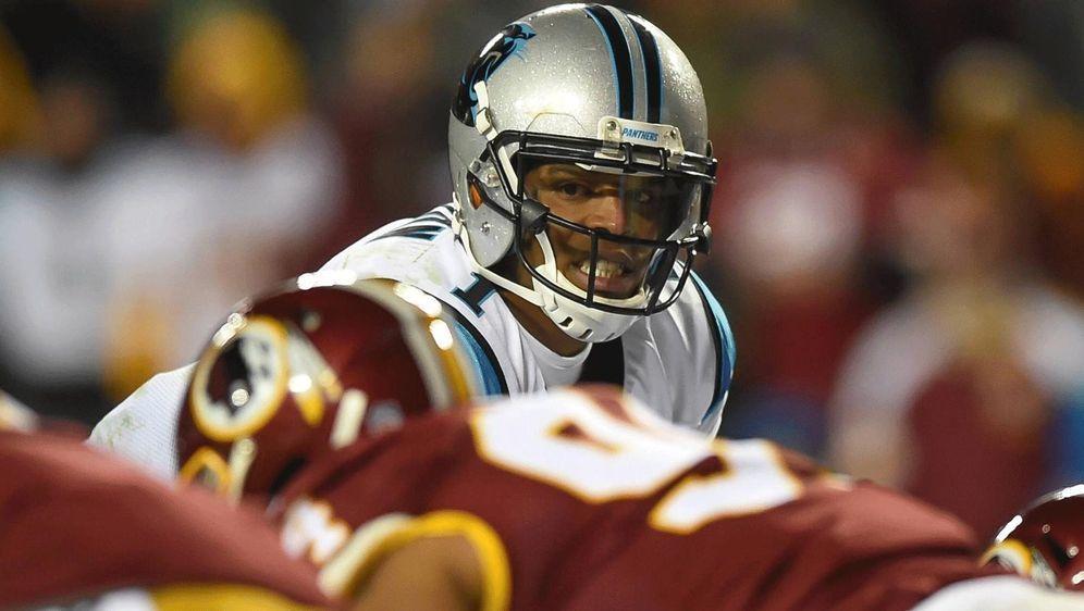 Ein gutes Omen? Cam Newton hat gegen die Washington Redskins bislang immer g... - Bildquelle: Imago