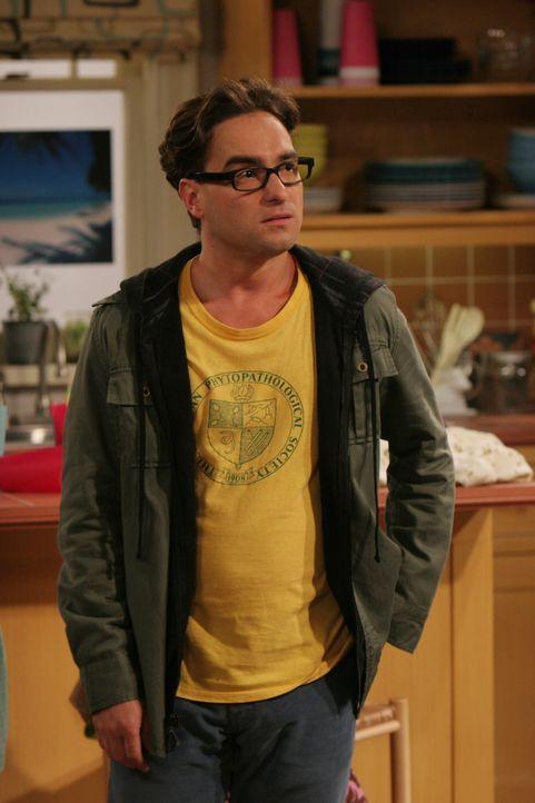 Hofft, dass ihm Penny nach alldem, was geschehen ist, verzeihen kann: Leonard (Johnny Galecki) ... - Bildquelle: Warner Bros. Television