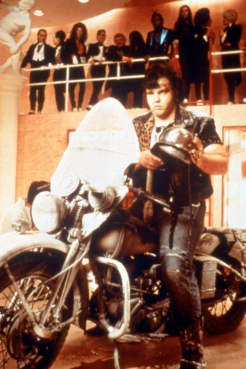 Der coole Eddie (Meat Loaf) erscheint auf der Bildfläche … - Bildquelle: 1975 Houtsnede Maatschappi N.V.