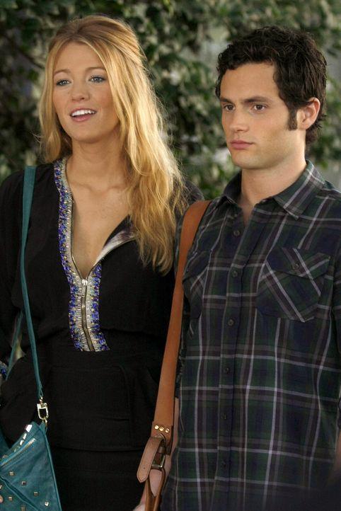 Serena (Blake Lively, l.) hofft, dass ihr Ex Dan (Penn Badgley, r.) keine Probleme mit der intriganten Gerogina bekommen wird ... - Bildquelle: Warner Brothers
