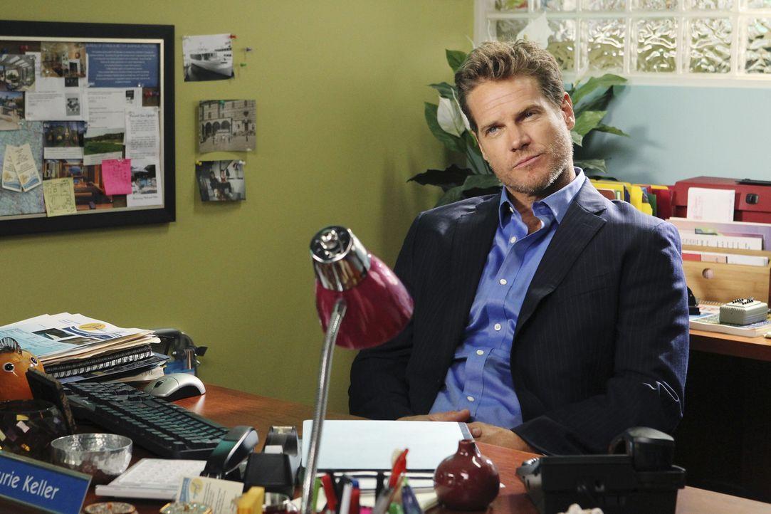 Nimmt seinen neuen Job bei Jules zu ernst: Bobby (Brian Van Holt) ... - Bildquelle: 2010 ABC INC.