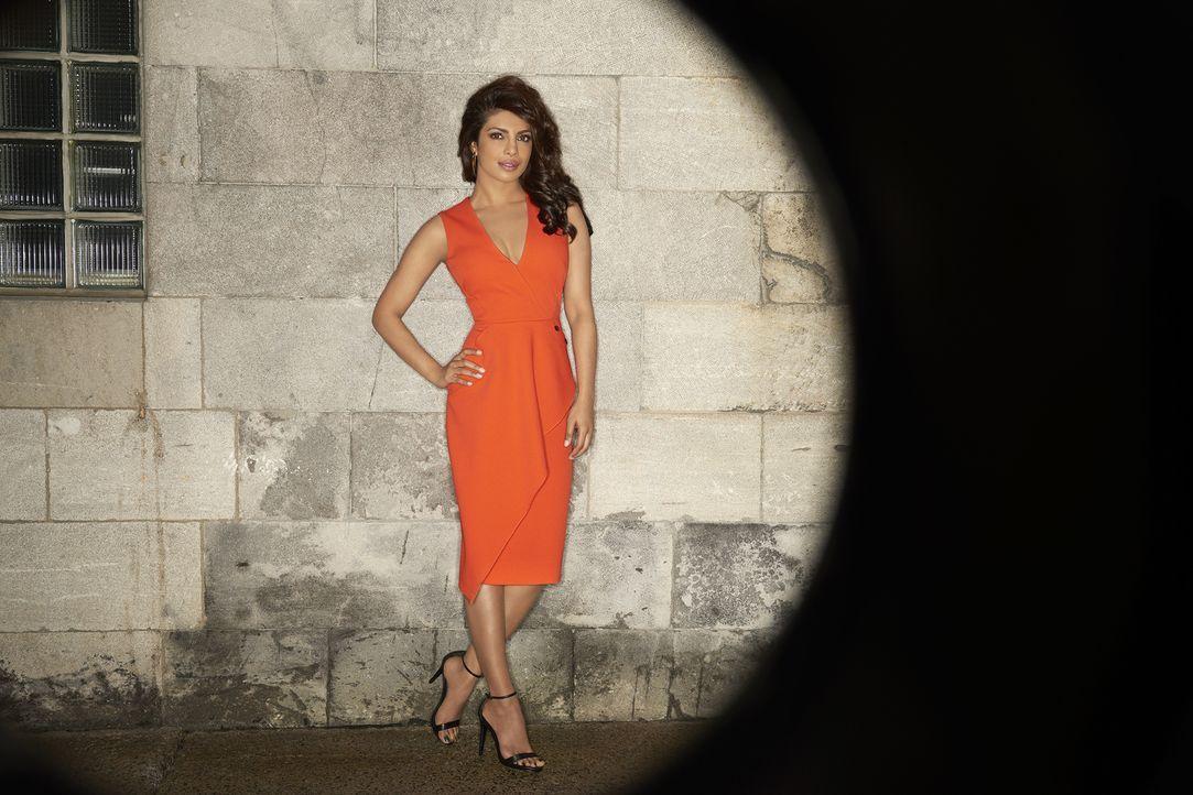 (1. Staffel) - Um ihre Unschuld nach einem Terroranschlag zu beweisen, sucht Alex Parrish (Priyanka Chopra) den wahren Drahtzieher unter ihren verme... - Bildquelle: 2015 ABC Studios
