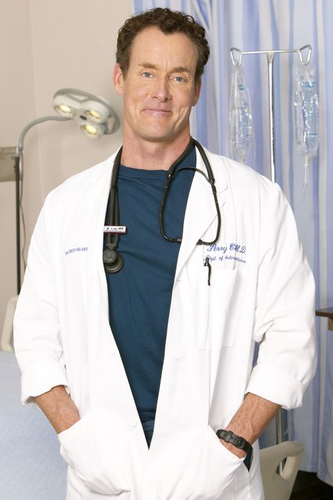 (5. Staffel) - Stationsarzt Dr. Phil Cox (John C. McGinley) zeigt nicht gerne Gefühle ... - Bildquelle: Touchstone Television