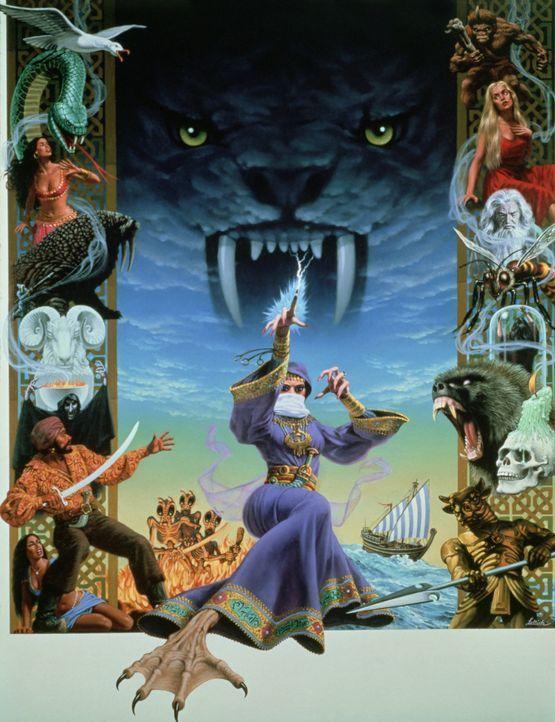 Verfolgt von einer machthungrigen Zauberin suchen Sindbad und seine Gefährten eine geheimnisvolle Kraft, die dem in einen Affen verwandelten rechtm... - Bildquelle: Columbia Pictures