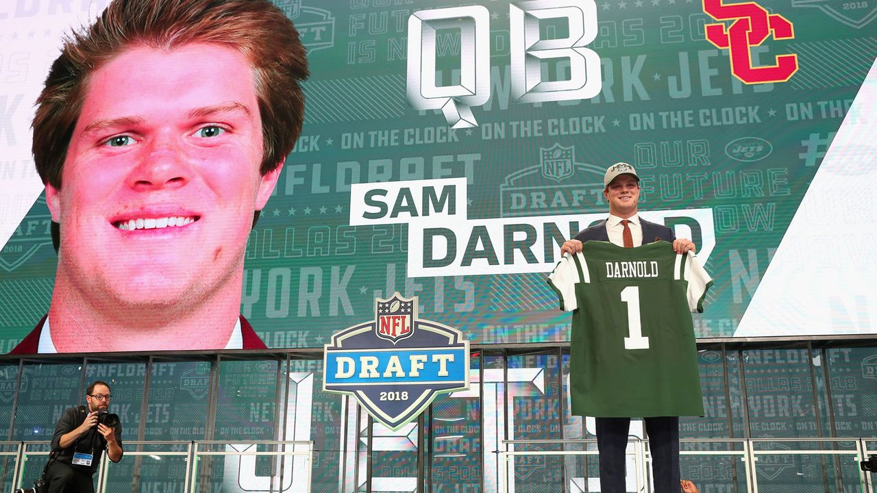 7. Sam Darnold (New York Jets) - Bildquelle: 2018 Getty Images
