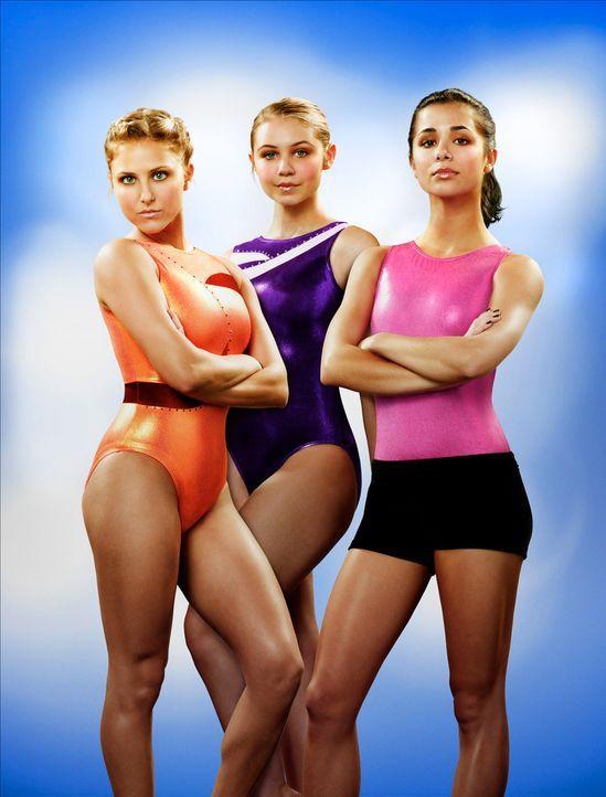 (4. Staffel) - Freundinnen und Konkurrentinnen zugleich - kann das gut gehen? Lauren Tanner (Cassie Scerbo, l.), Payson Keeler (Ayla Kell, M.) und K...