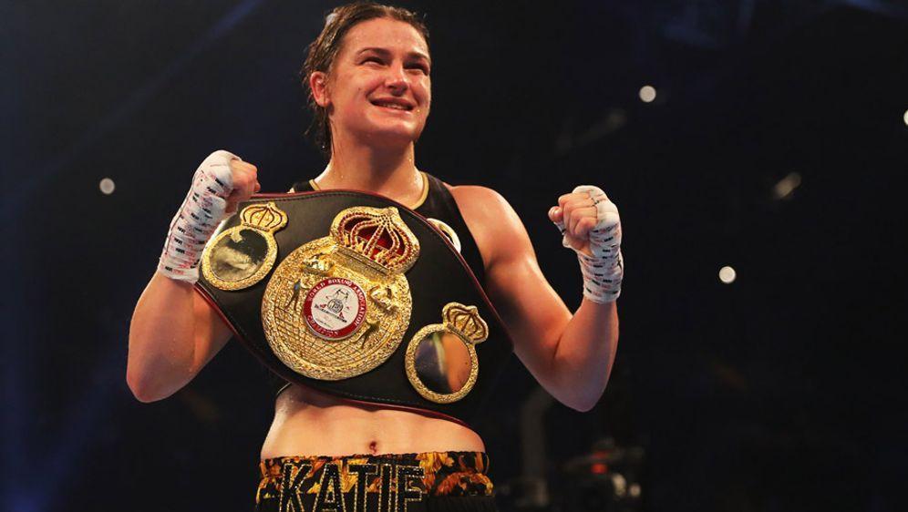 Die Irin Katie Taylor mischt derzeit die internationale Frauenboxszene auf - Bildquelle: GettyImages