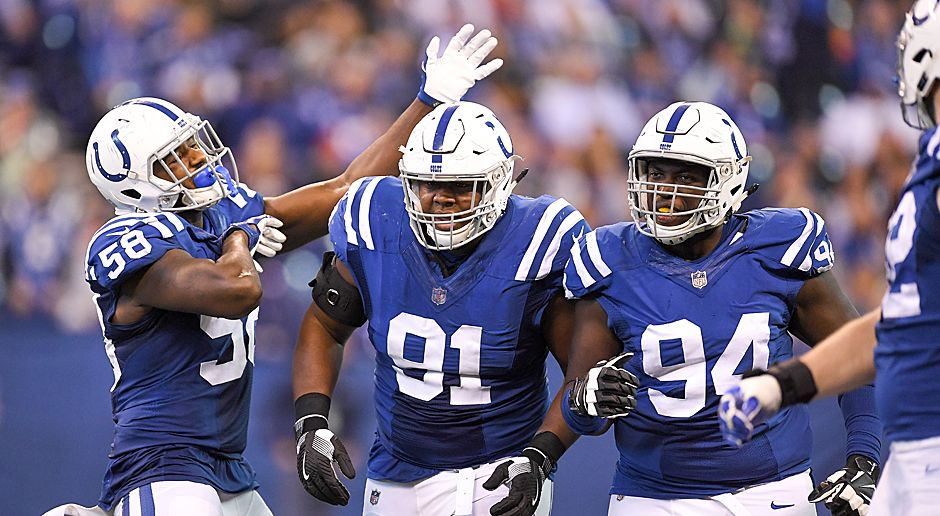 Platz 22 (geteilt): Indianapolis Colts (AFC South) - Bildquelle: 2017 Getty Images