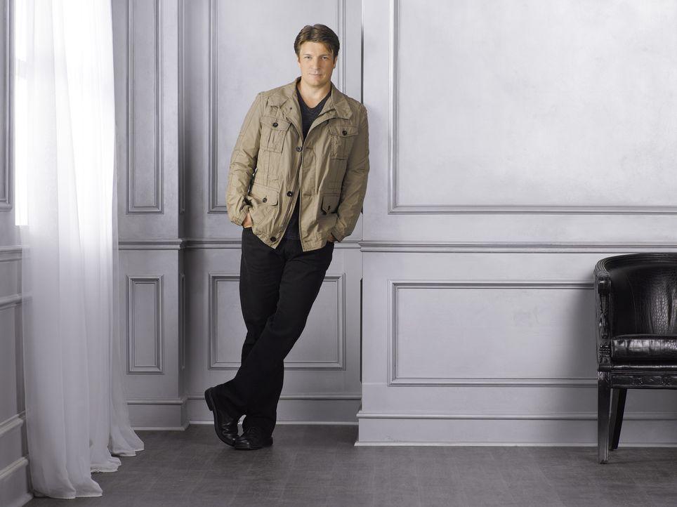 (4. Staffel) - Der Krimibuchautor Richard Castle (Nathan Fillion) hat immer einen lockeren Spruch auf den Lippen ... - Bildquelle: ABC Studios