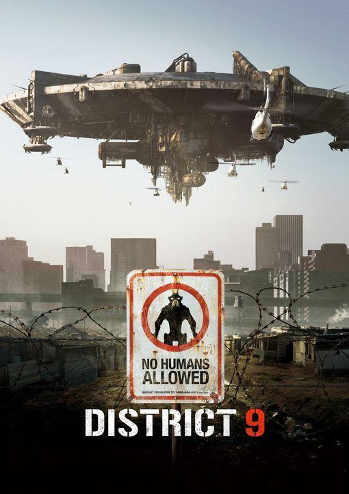 DISTRICT 9 - Plakatmotiv - Bildquelle: 2009 District 9 Ltd. All Rights Reserved.