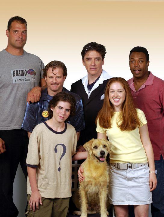 Bekommen es mit Lenny, dem Wunderhund zu tun: (v.l.n.r.) Panky (Jeff Chase), Hanky (Andrew Shaifer), Zach (Sammy Kahn), Dr. Wagner (Craig Ferguson),... - Bildquelle: North by Northwest Entertainment