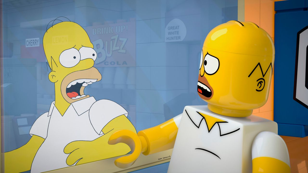 Weil Homer Simpson (l.) große Angst hat, die Liebe seiner Tochter Lisa zu verlieren, hat er sich in eine irre Traumwelt geflüchtet, in der alles - i... - Bildquelle: 2013 Twentieth Century Fox Film Corporation. All rights reserved.