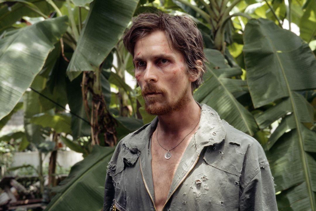 Als Dieter Dengler (Christian Bale) und seine Mitgefangenen von den Plänen der Wärter erfahren, planen sie ihre Flucht in den unbarmherzigen Dschung... - Bildquelle: Lena Herzog 2006 Top Gun Productions, LLC. All Rights Reserved.
