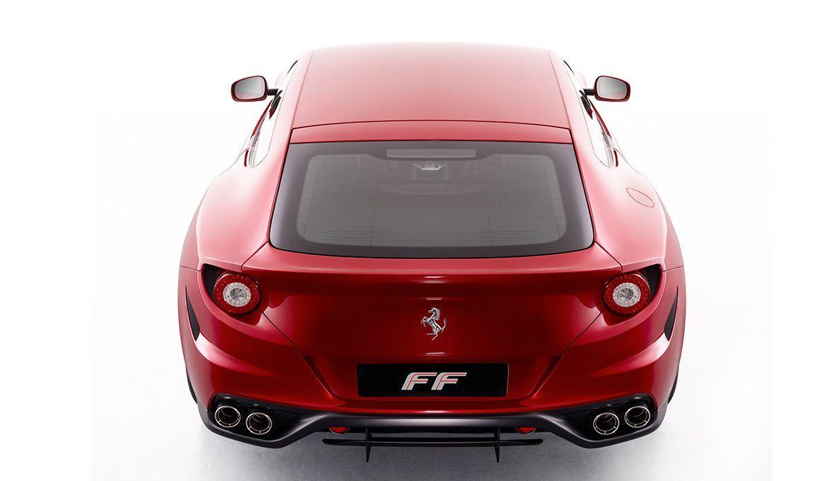 Ferrari FF - Bildquelle: Verwendung weltweit, usage worldwide
