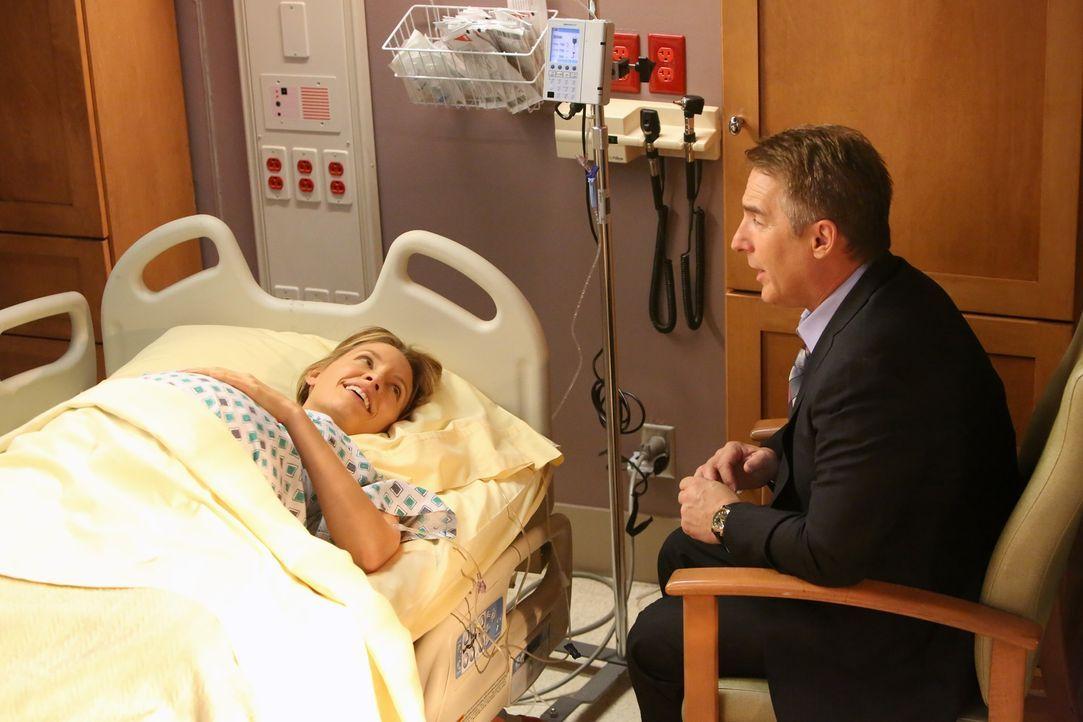 Eine schwere Zeit steht ihnen bevor: Sheldon (Brian Benben, r.) und Charlotte (KaDee Strickland, l.) ... - Bildquelle: ABC Studios