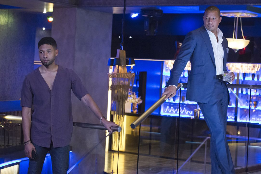 Wie wird es mit ihnen und Empire weitergehen? Jamal (Jussie Smollett, l.) und Lucious (Terrence Howard, r.) ... - Bildquelle: Chuck Hodes 2015-2016 Fox and its related entities.  All rights reserved.