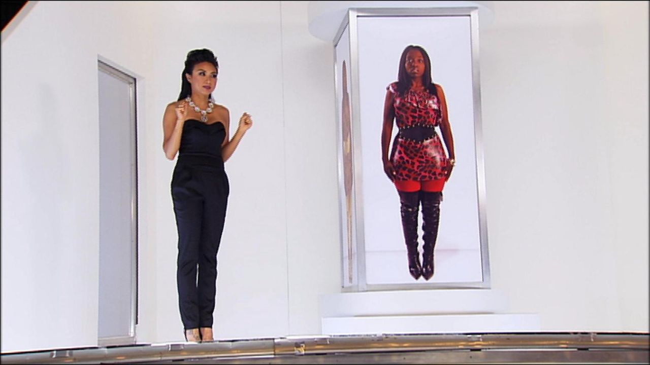 Alondrea (r.) kann sich einfach kein Outfit ohne Leggings vorstellen. Jeannie Mai (l.) will dem Drama endlich ein Ende setzen ...