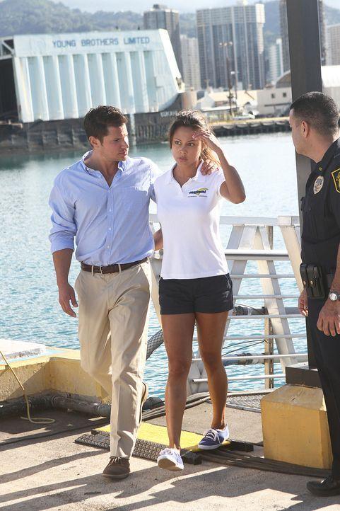Ein Partyboot mit amerikanischen Jugendlichen an Bord wird überfallen. Von der Küstenwache alarmiert, finden Steve und sein Team das Boot verwaist v... - Bildquelle: TM &   2010 CBS Studios Inc. All Rights Reserved.
