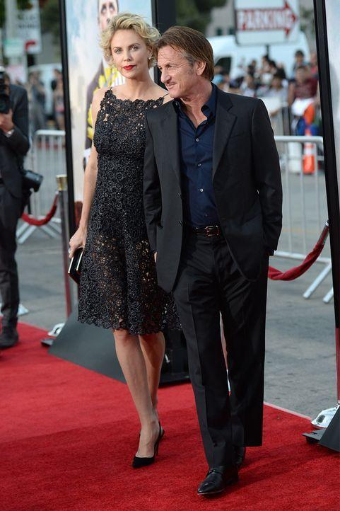 Charlize Theron und Sean Penn - Bildquelle: AFP