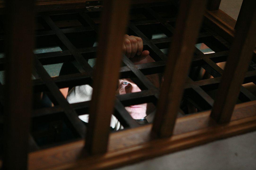 Der Serienkiller (Fulvio Cecere) hat schon wieder zugeschlagen und ein Kind in seine Gewalt gebracht ...