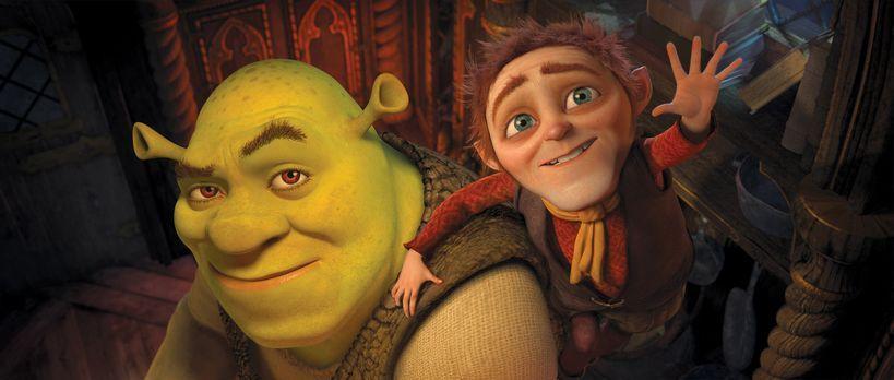 Für immer Shrek - Shrek (l.) hat den Wunsch, sich mal wieder wie ein richtige...