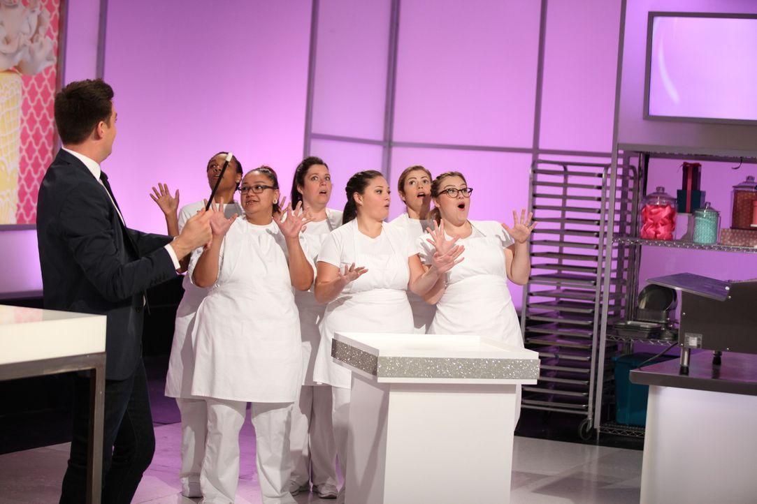 Heute gibt es eine Tortenschlacht voller Magie. Vier Bäcker gehen in den Wet... - Bildquelle: 2016,Television Food Network, G.P. All Rights Reserved