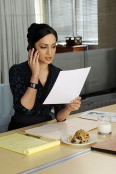 Good Wife - Kalinda (Archie Panjabi) erhält den Auftrag, schädigende Geheimni...