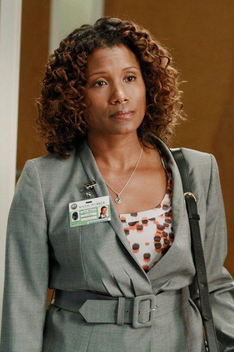 Wird sie Meredith und Derek, Zola wegnehmen? Sozialarbeiterin Janet (Janora McDuffie) - Bildquelle: ABC Studios
