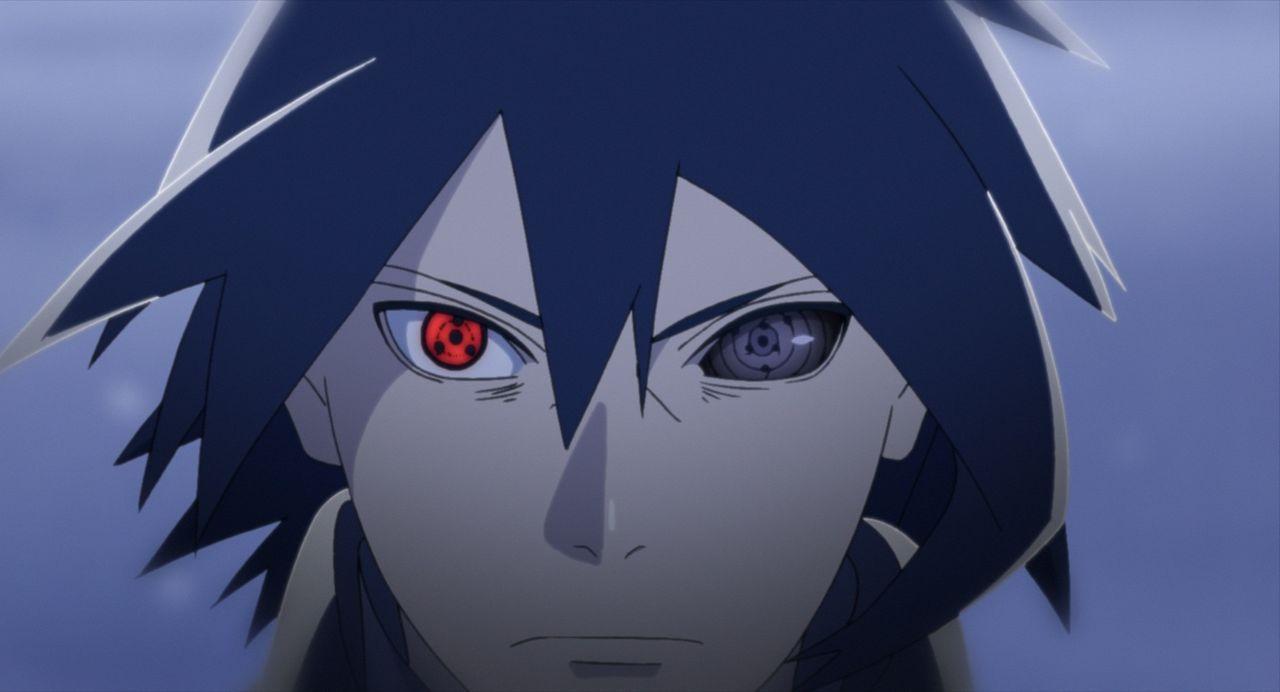 Nach einem Streit mit Naruto wendet sich Boruto gegen seinen Vater und sucht dessen ehemaligen Kontrahenten Uchiha Sasuke auf, um von ihm trainiert... - Bildquelle: 2002 MASASHI KISHIMOTO /2007 Shippuden   NMP 2015