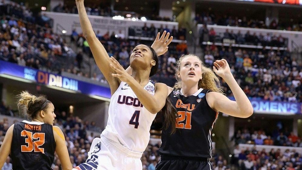 Marie Gülich (r.) schafft Sprung in die WNBA - Bildquelle: AFPSIDANDY LYONS