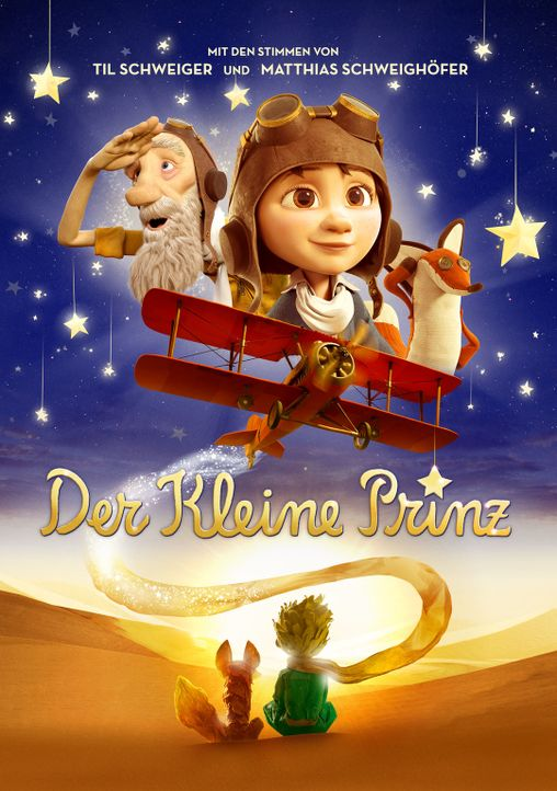 Der kleine Prinz - Bildquelle: 2015 LPPTV Little Princess, On Entertainment, Orange Studio, M6 Films, Lucky Red. All rights reserved.