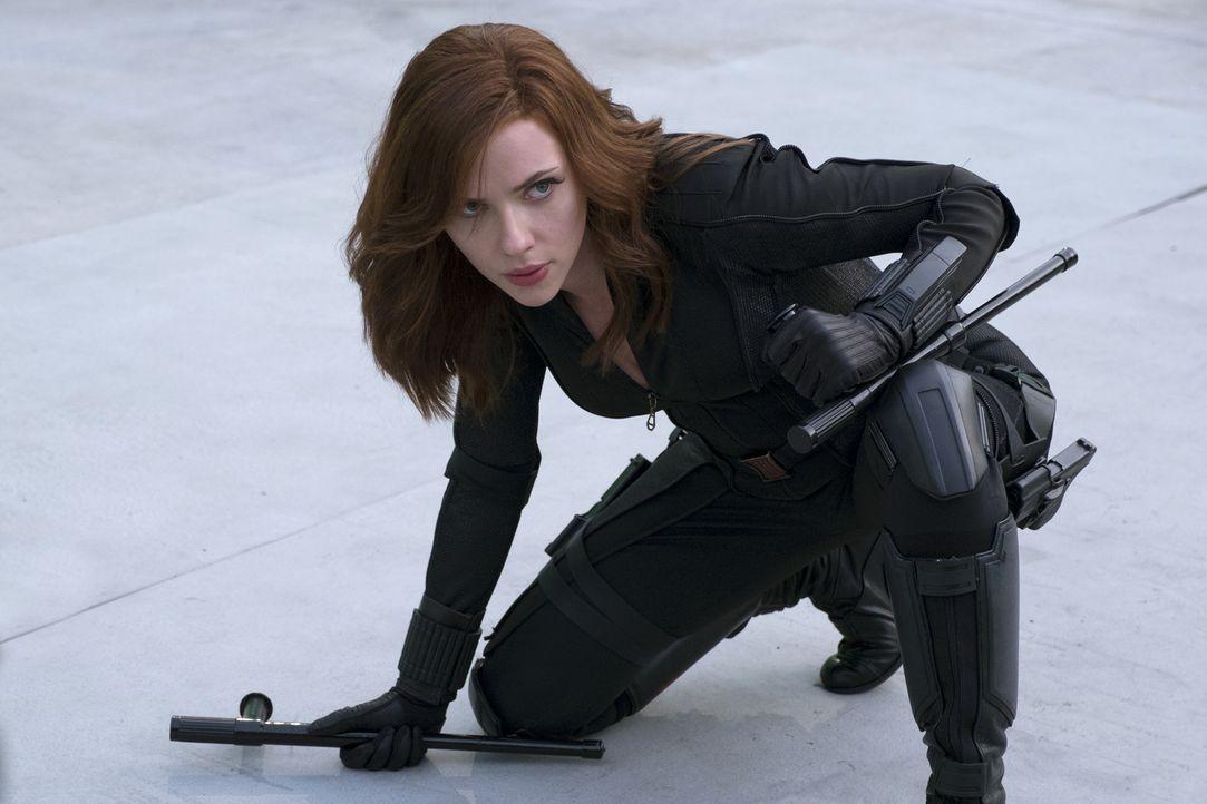 Natasha Romanoff alias Black Widow (Scarlett Johansson) - Bildquelle: Zade Rosenthal 2014 MVLFFLLC. TM &   2014 Marvel. All Rights Reserved./Zade Rosenthal